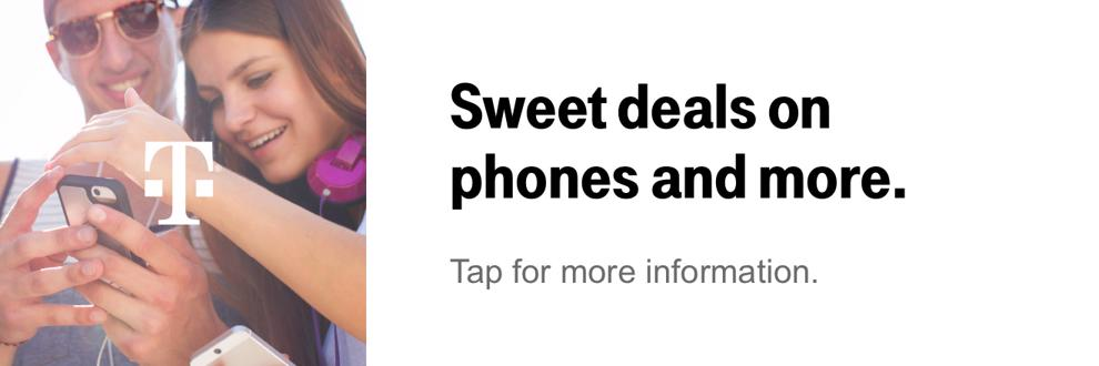 Sweet deals on phones and more