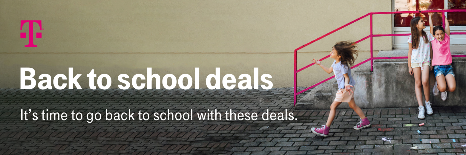 Back to school deals. It's time to go back to school with these deals