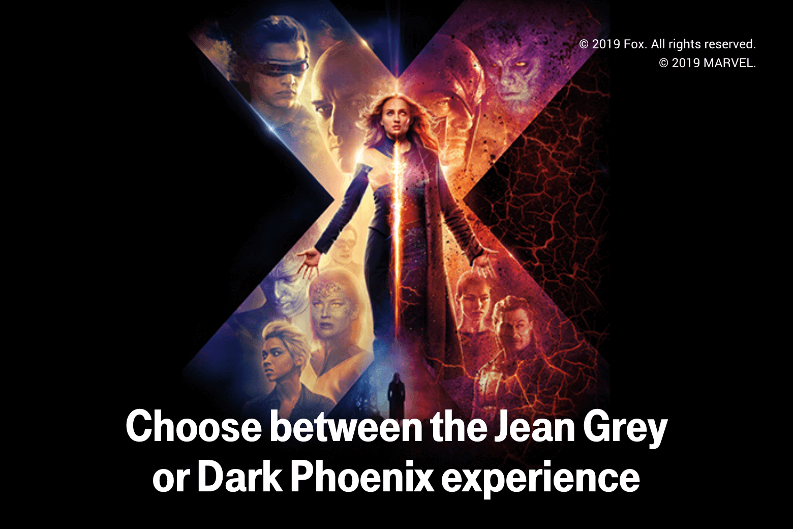 Choose between the Jean Grey or Dark Phoenix experience
