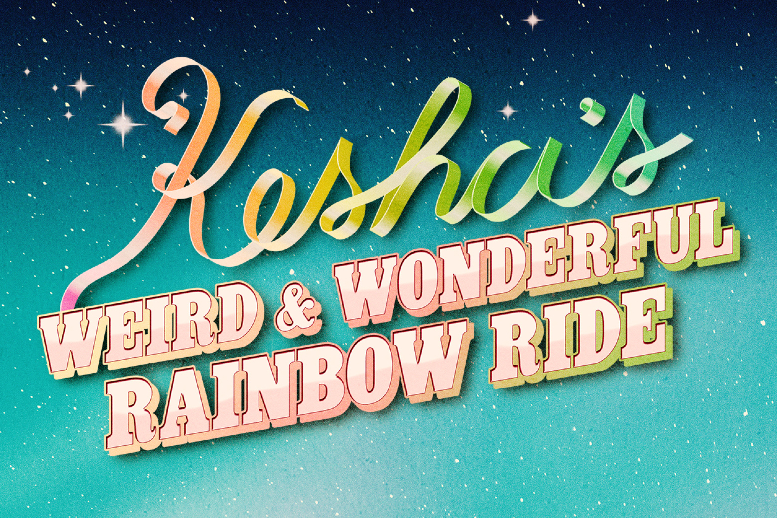 Kesha's Weird & Wonderful Rainbow Ride